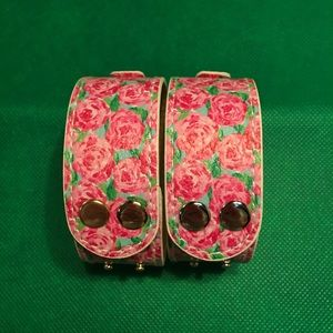 Lilly Pulitzer Snap Bracelets - Floral